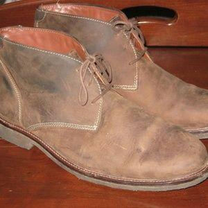 Johnston & Murphy Copeland Chukka Boots Size 12